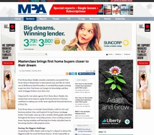 MPA featuring First Home Buyer Buddy