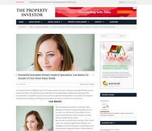 Successful Australian women property specialists